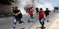 اندلاع مواجهات في الخليل بعد تشييع جثمان الشهيد الطفل محمد مؤيد