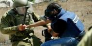 انتهاكات الاحتلال بحق الصحفيين خلال يونيو