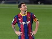 ميسي يغادر برشلونة مجددا