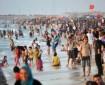 شاطئ البحر قبلة الغزيين في الرحلات رغم التحذيرات من تلوث مياهه