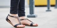 بالصور   موديلات أحذية مزينة بالسلاسل