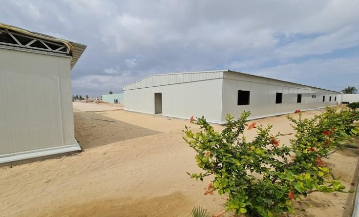 بالصور|| مستشفى ميداني لعلاج مرضى كورونا في غزة