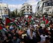 مسيرة وسط رام الله لدعم وإسناد الأسرى المضربين عن الطعام